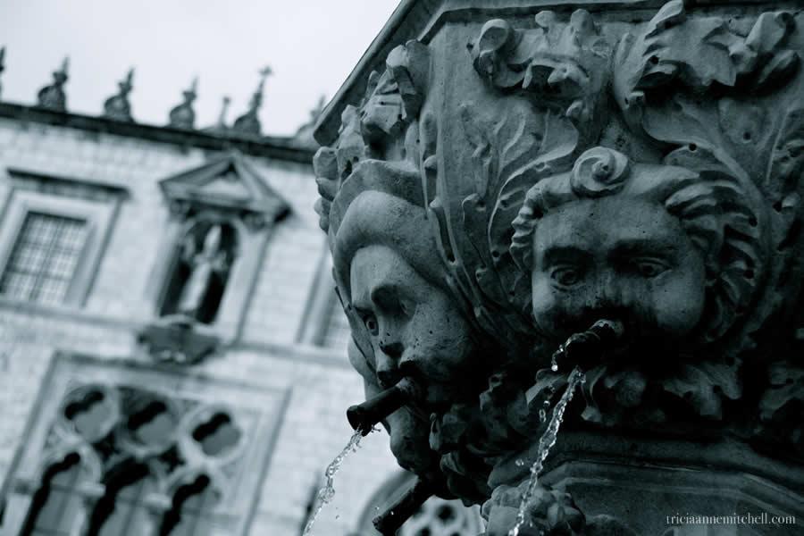 Dubrovnik-Fountain-Architecture