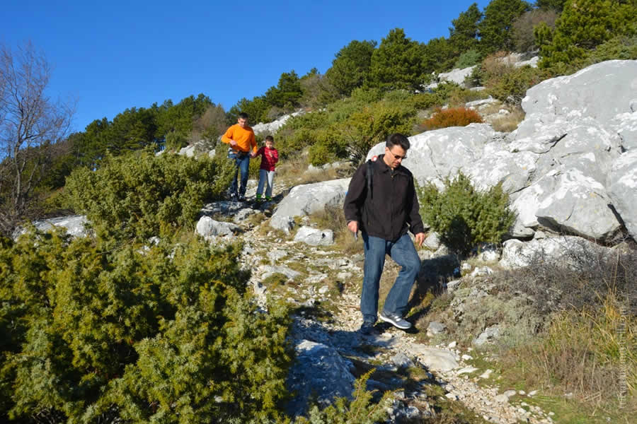 Hiking Mosor Croatia Split Trails