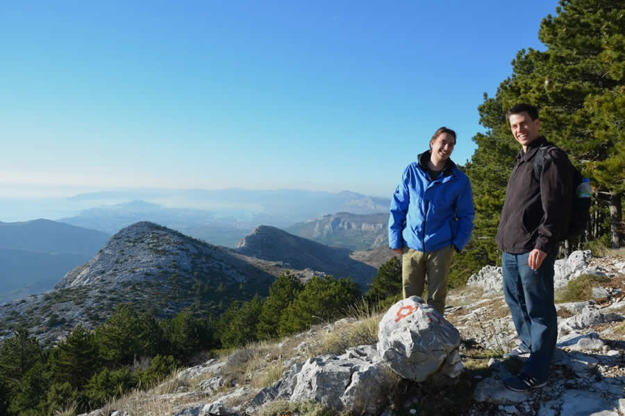 Hiking Mosor Split Croatia 9