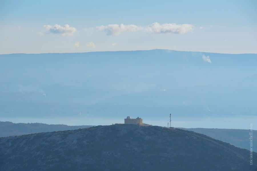 Hiking Mosor Split View of Planetarium Croatia