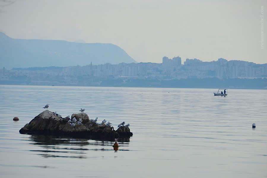 Kastela View of Split Fisherman