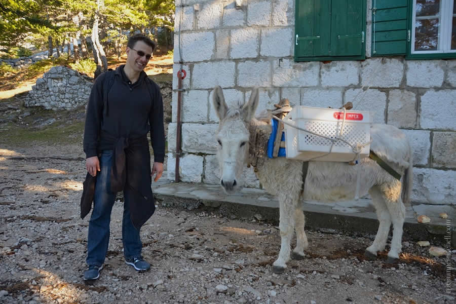 Mosor Hike Split Croatia Shawn by Donkey