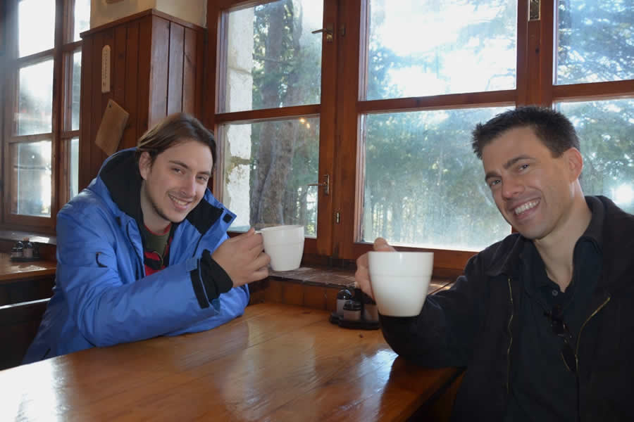 Tea at Mountain Hut Mosor Split Croatia