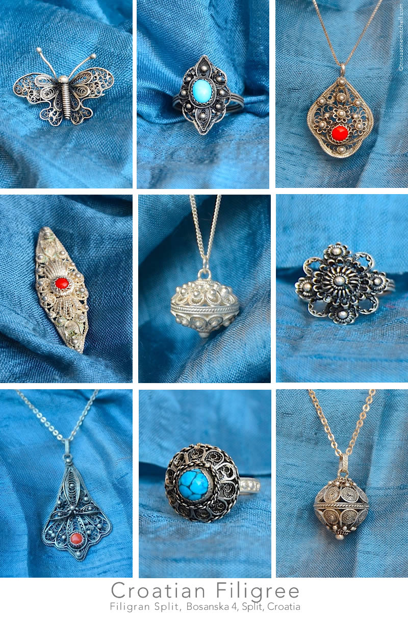 Croatian Filigree Jewelry Split Croatia