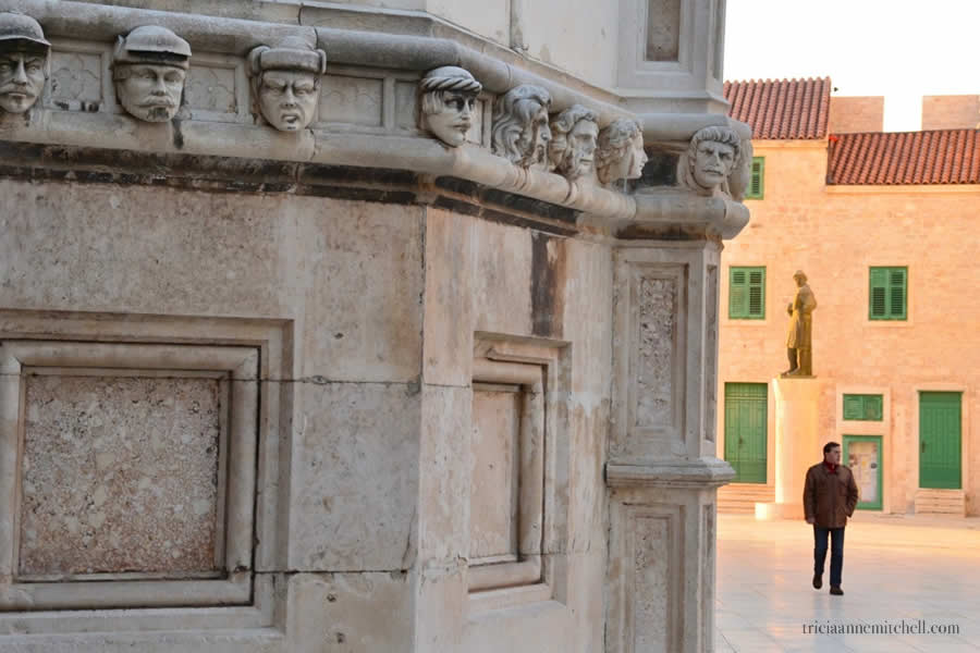 Šibenik Cathedral Croatia Details Faces