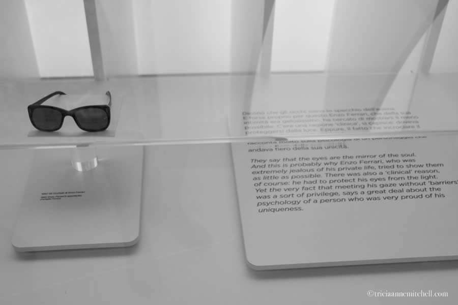 Enzo Ferrari sunglasses modena italy