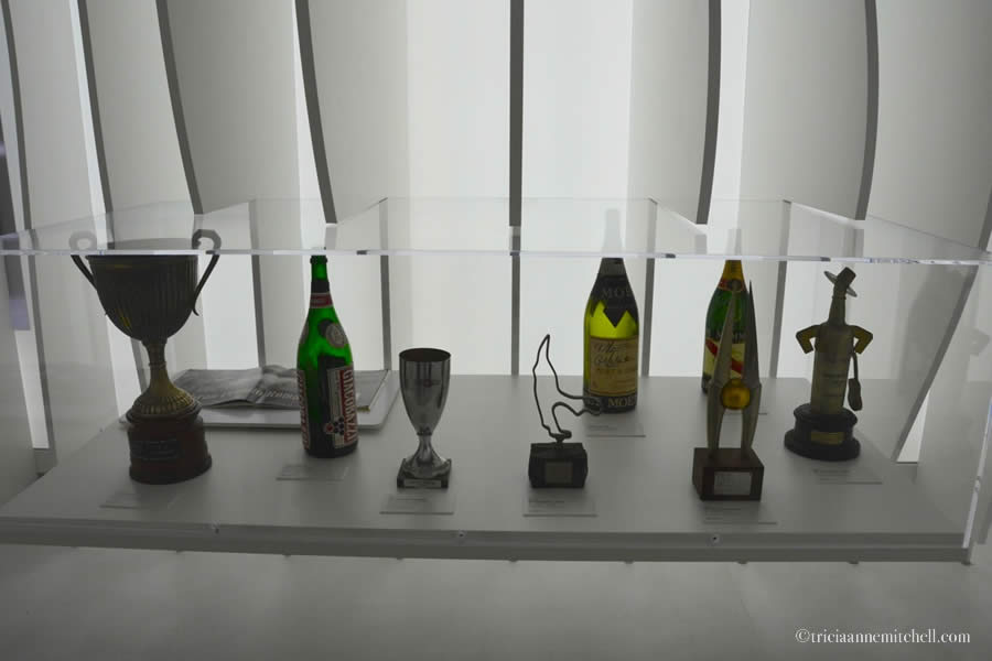 Enzo Ferrari trophies modena italy