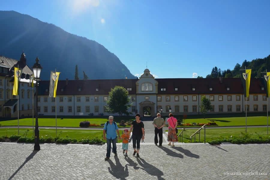 Ettal Monastery Oberbayern Germany