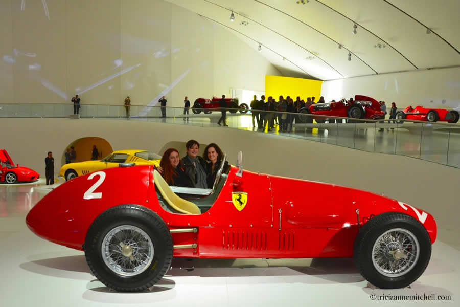 magnificent motors the enzo ferrari home museum in modena italy travels with tricia. Black Bedroom Furniture Sets. Home Design Ideas