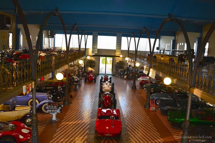 Hombre Cheese Italian Motor Museum Modena Italy