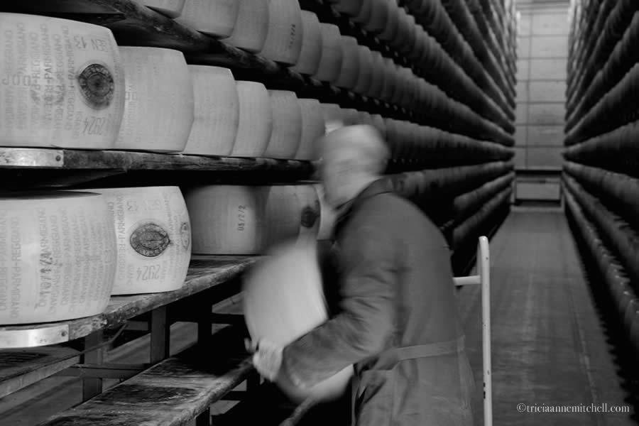 Hombre Parmigiano Reggiano Modena Italy storage