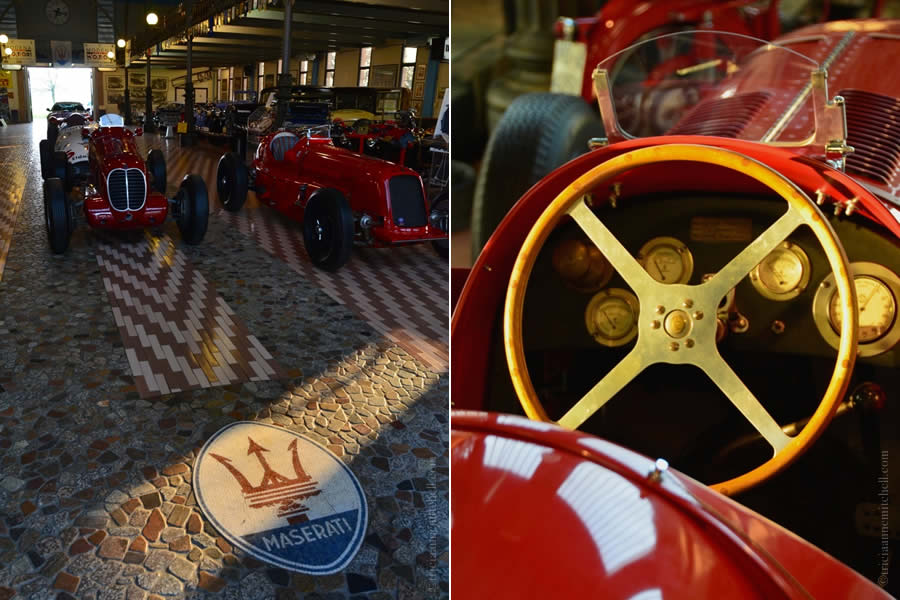 Hombre Vintage Italian Car Collection Modena Italy