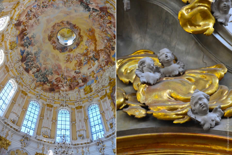 Kloster Ettal Cherubs and Dome