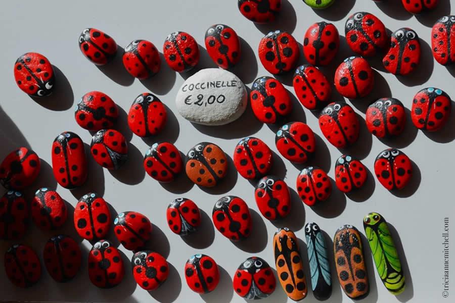 Modena Art Market Lady Bug Magnets