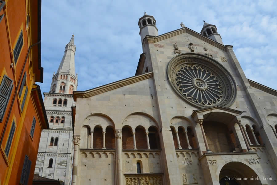 Modena Cathedral Detail Exterior