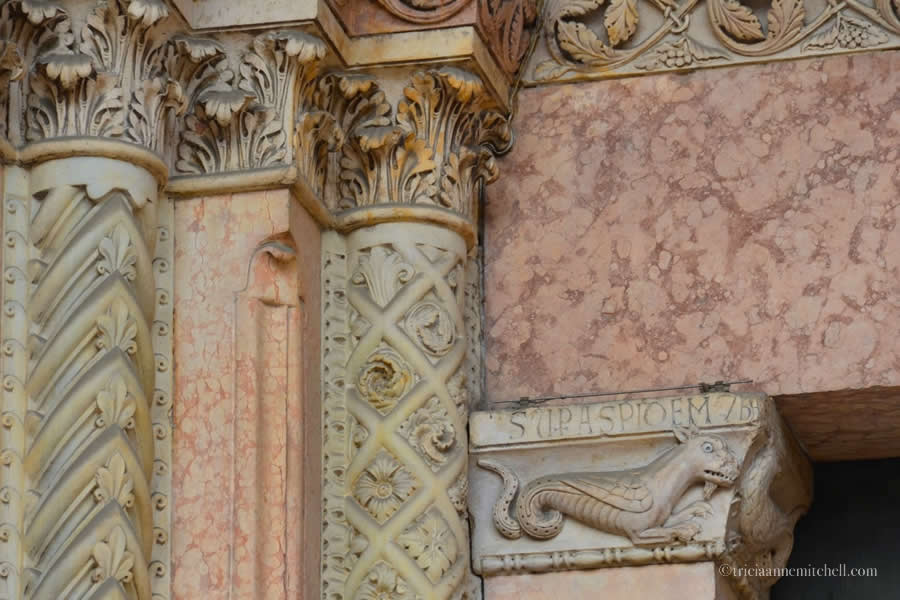 Modena Cathedral Detail