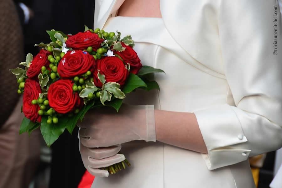 Modena Italy bride bouquet