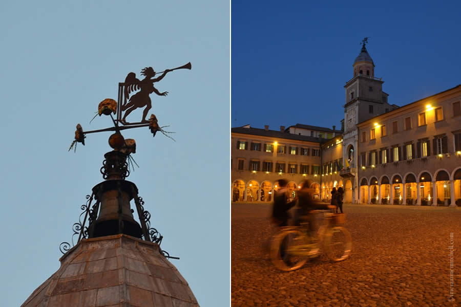 Modena Italy by Night Scenes