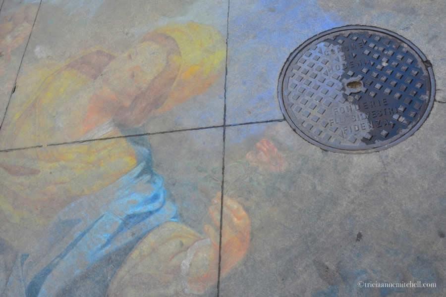 Modena Italy Chalk Art