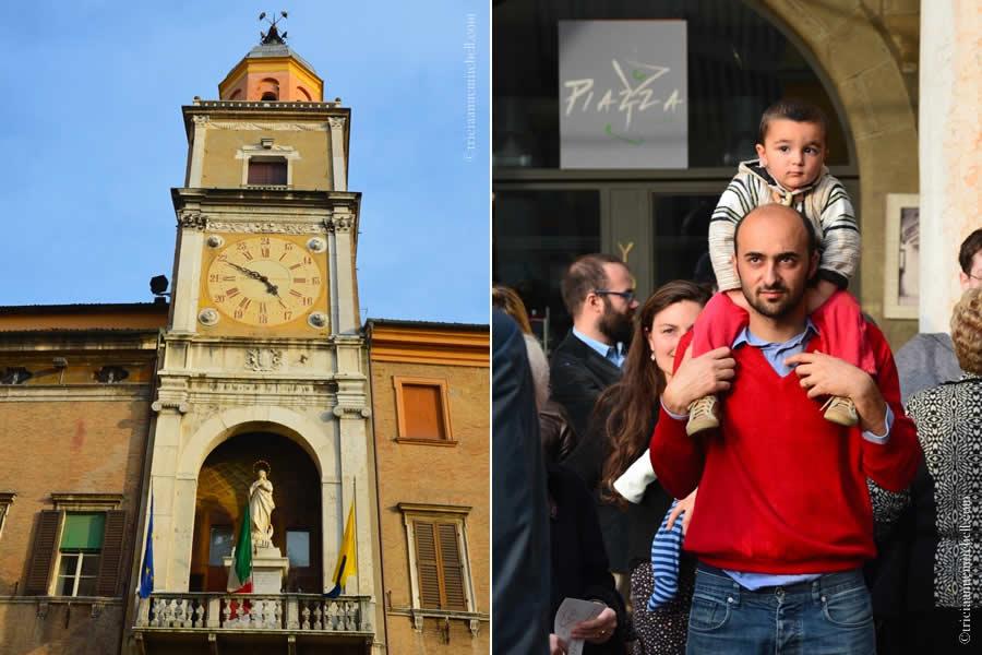 Modena Italy city hall wedding