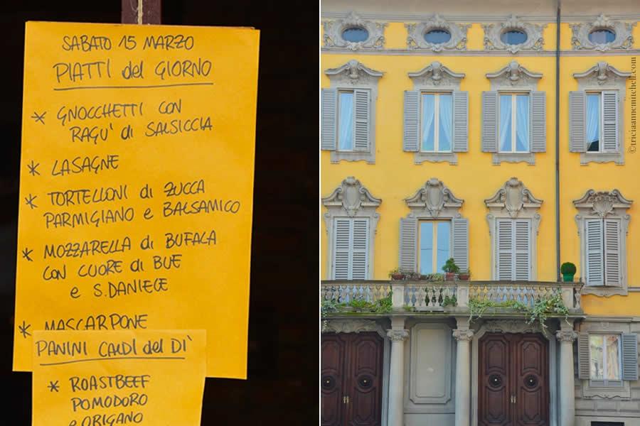 Modena Italy Menu