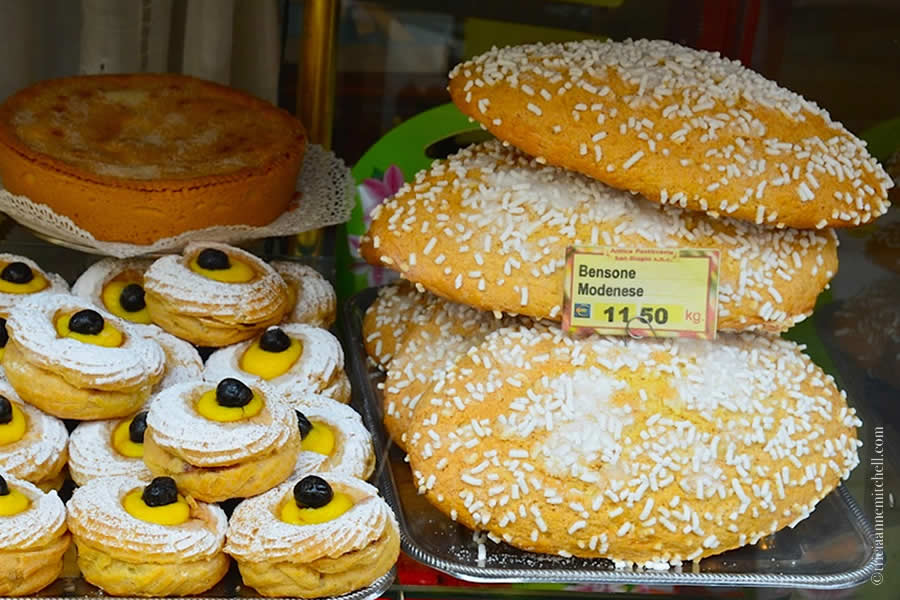Modena Italy Pastries Bensona Modenese