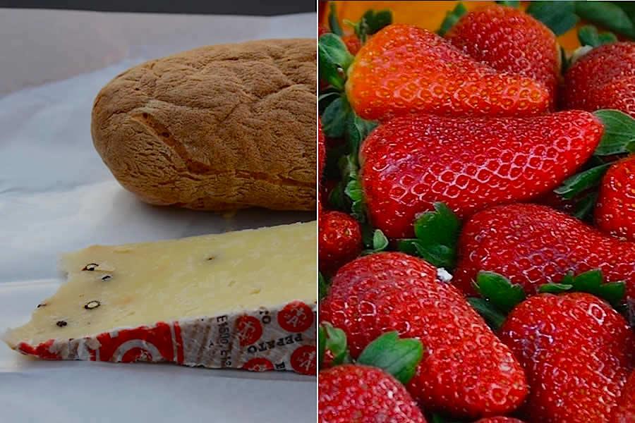 Modena Italy Picnic Food