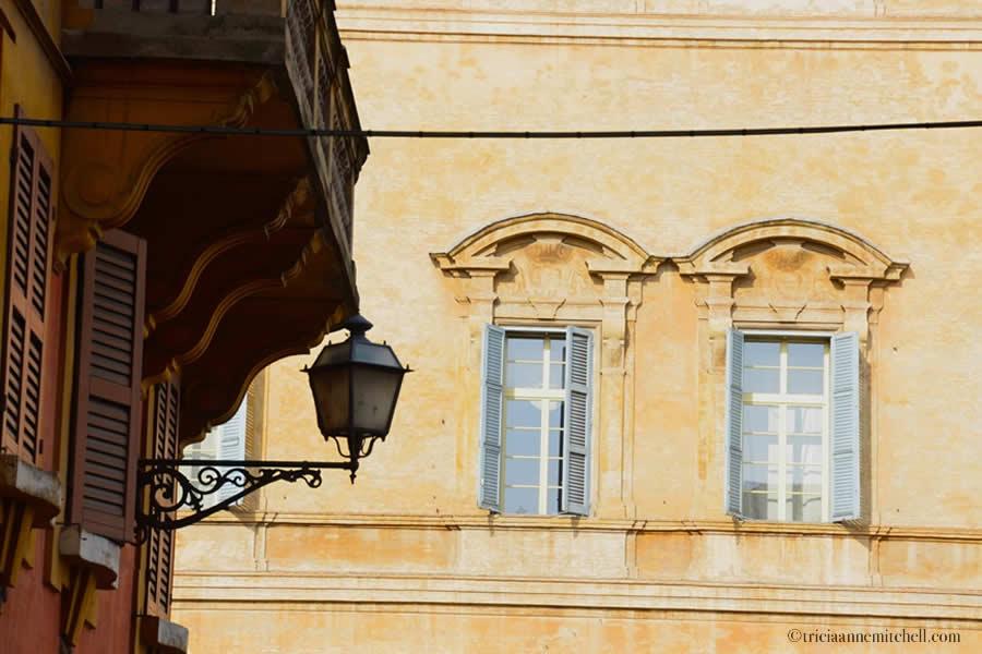 Modena Italy Streetlamp