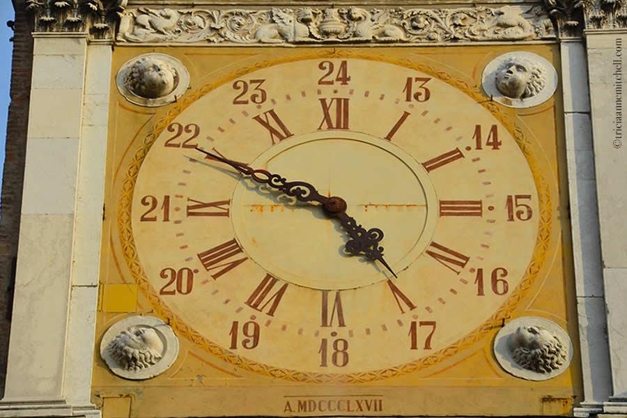Modena municipio city hall clock tower