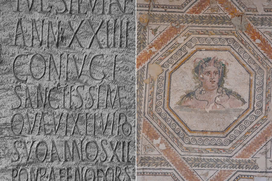 mosaic Split Archaeology Museum