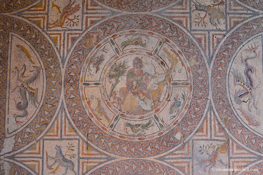 Mosaic work Split Archaeological Museum