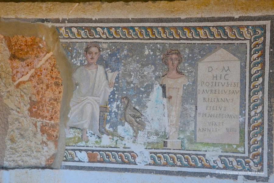 Roman Mosaics at Split Archaeological Museum