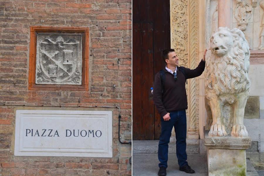 Piazza Duomo Modena Italy