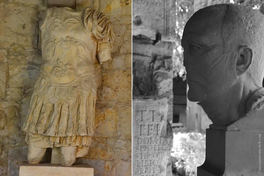 Roman statues Split Archaeology Museum