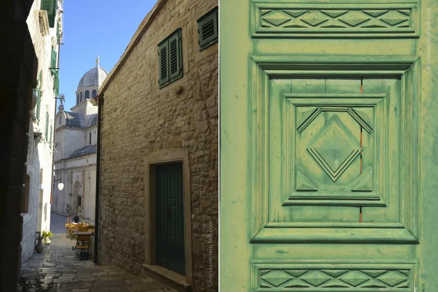 Sibenik Croatia architecture tourism visit
