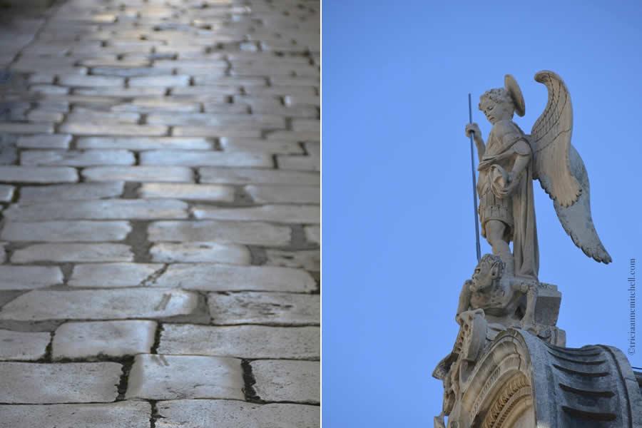 Sibenik St. Michael on Cathedral