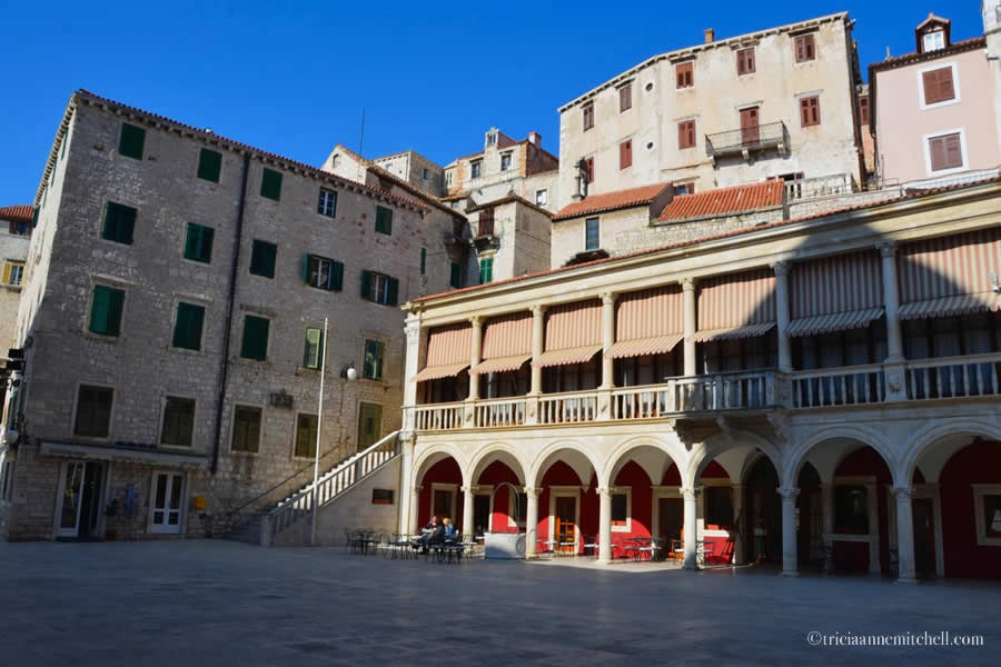Sibenik Trg Republike Main Square