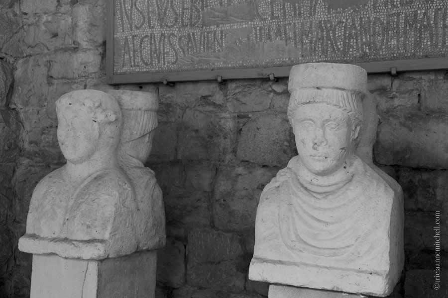 Split Archaeological Museum co-emperor bust