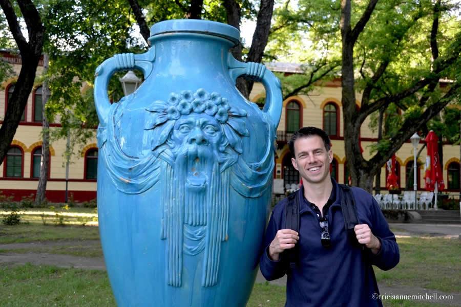 Lake Palic Serbia Blue Vases