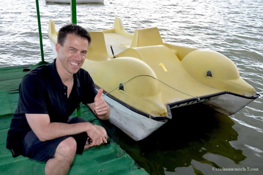 Lake Palic Serbia Paddleboat