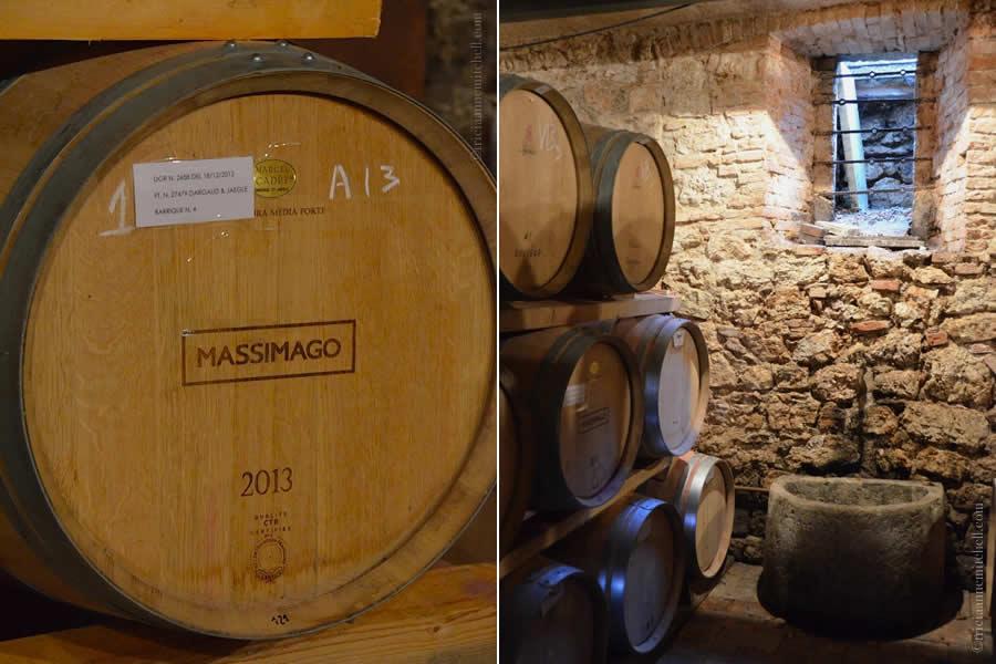 Massimago Wine Cellar Mezzane di Sotto Italy