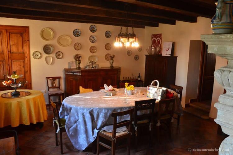 Massimago Winery Interior Italy