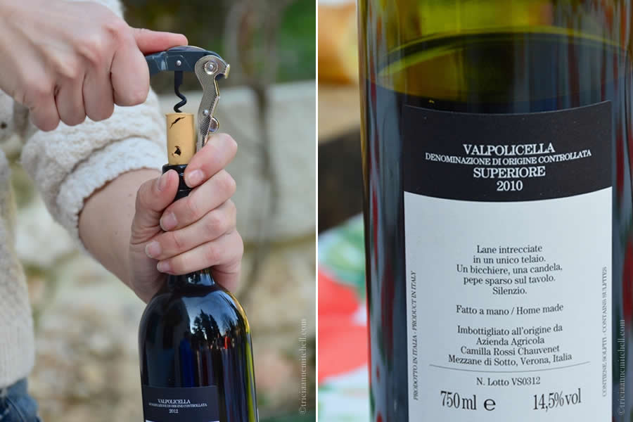 Massimago Winery Opening Bottle