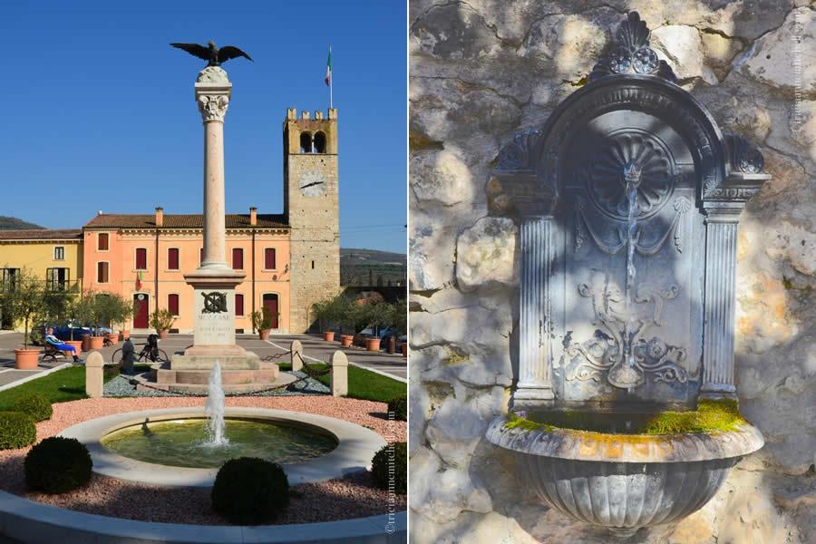 Mezzane di Sotto Italy fountain