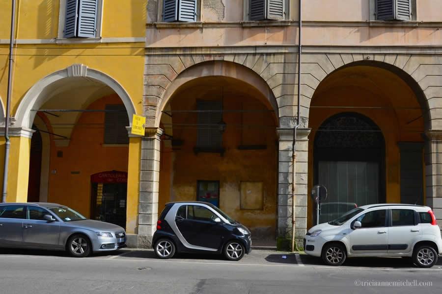 Modena Porticoes Italy