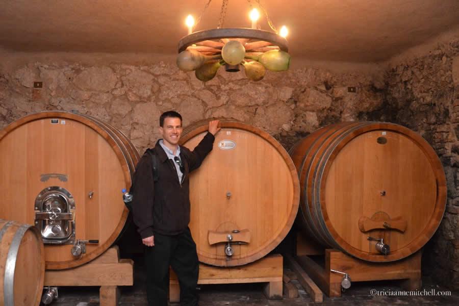 Shawn Massimago Wine Cellar