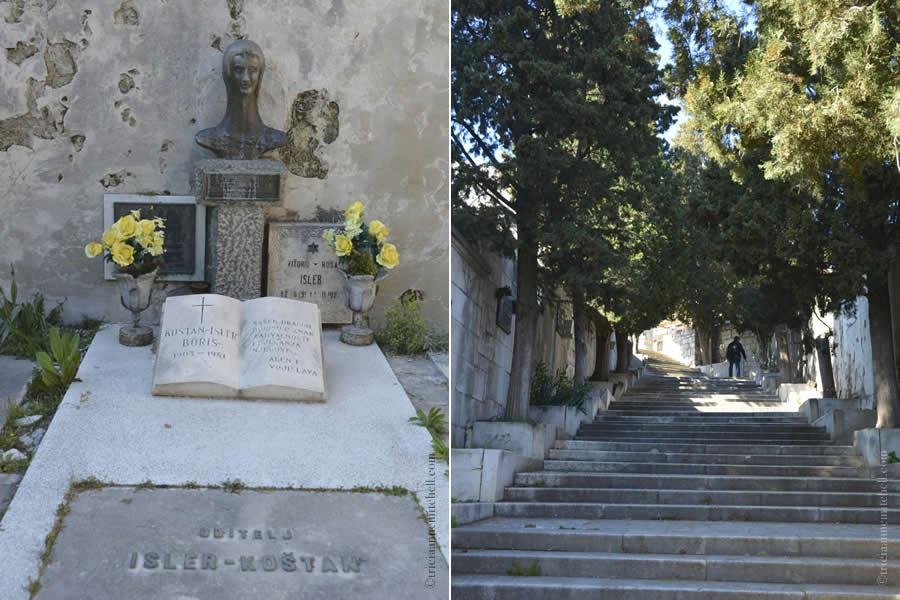 Sibenik Croatia Cemetery