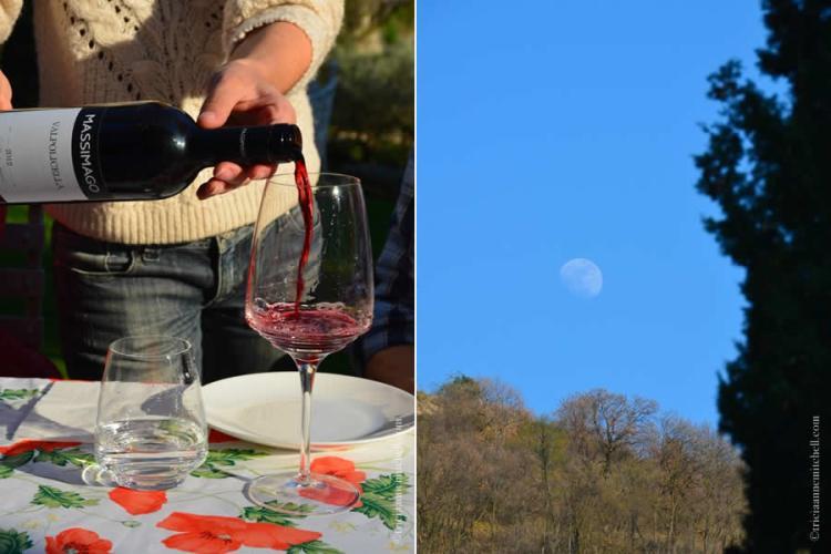 Wine tasting Massimago near Verona Italy