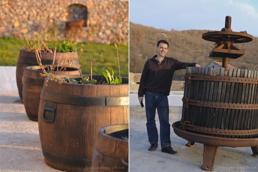 Barrels and Grape Press