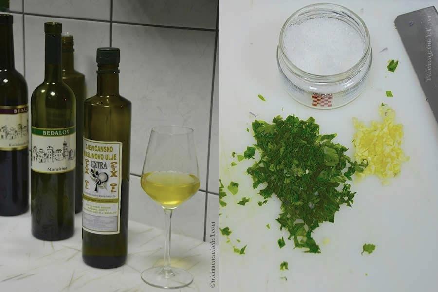 croatian-cooking-class-parsley-and-garlic-and-sea-salt